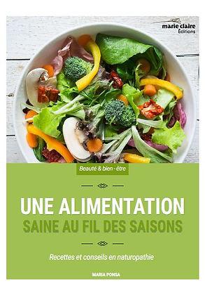 """Livre """"Une alimentation saine au fil des saisons"""""""