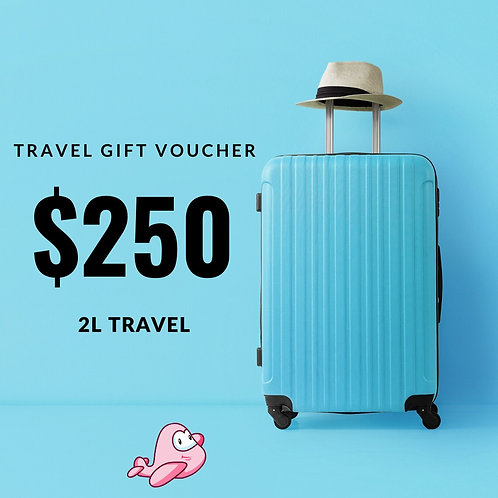 TRAVEL GIFT CARD $250