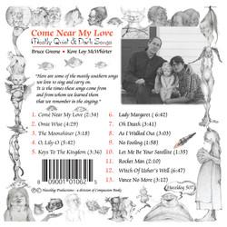 cd back cover