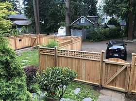 Full yard fencing
