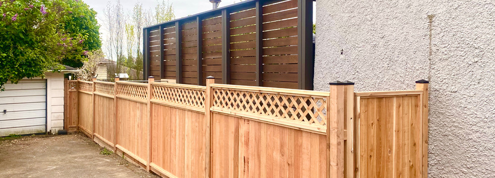 Panel style fencing and gates MicroWORKS Handyman