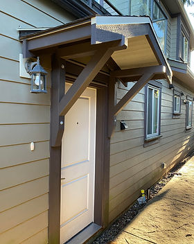 Custom Portico Carpentry Lynn Valley