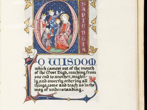 Musical Advent Calendar: O Sapientia
