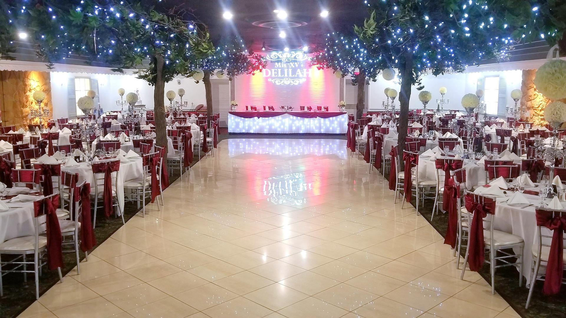 XV decoration Diamond Garden Banquets Chicago