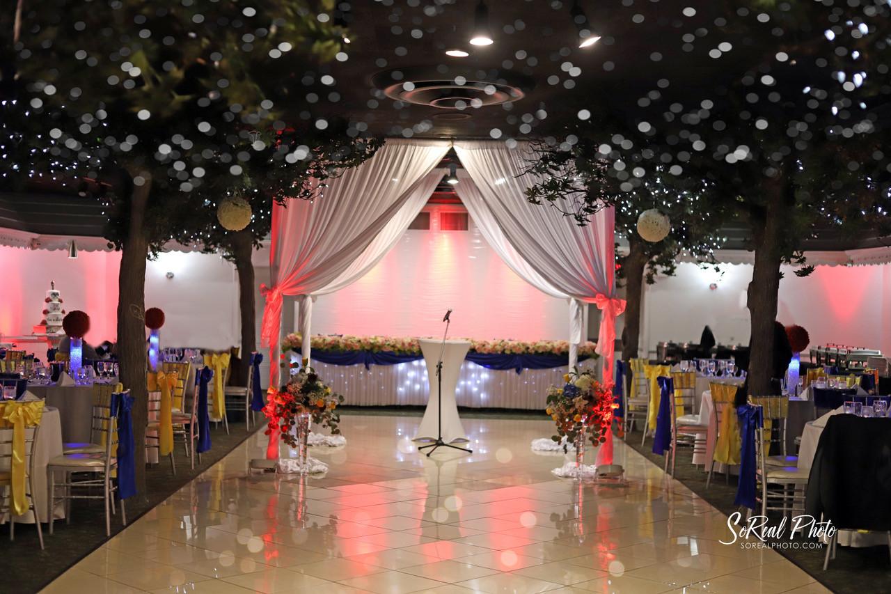 Ceremony Setup Diamond Garden Banquets