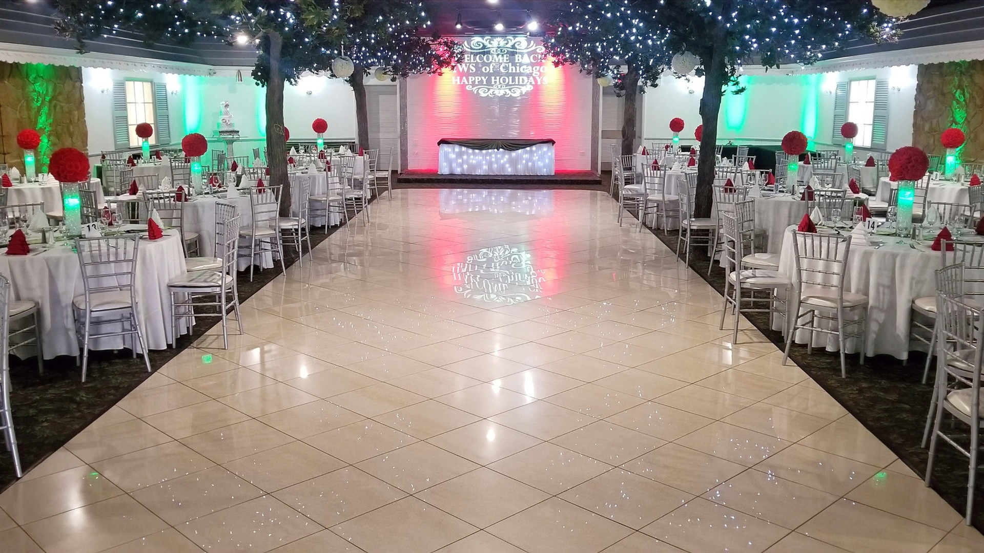 Corporate Employees Party Diamond Garden