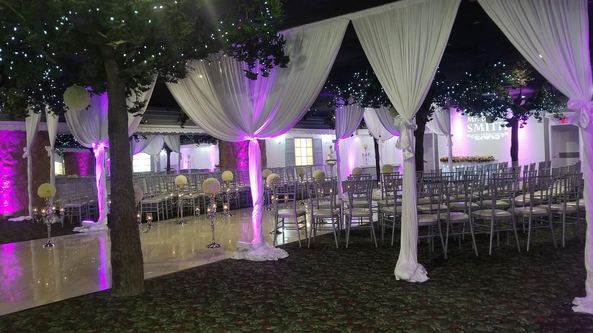 Ceremony Setup Diamond Garden Banquet Hall Chicago