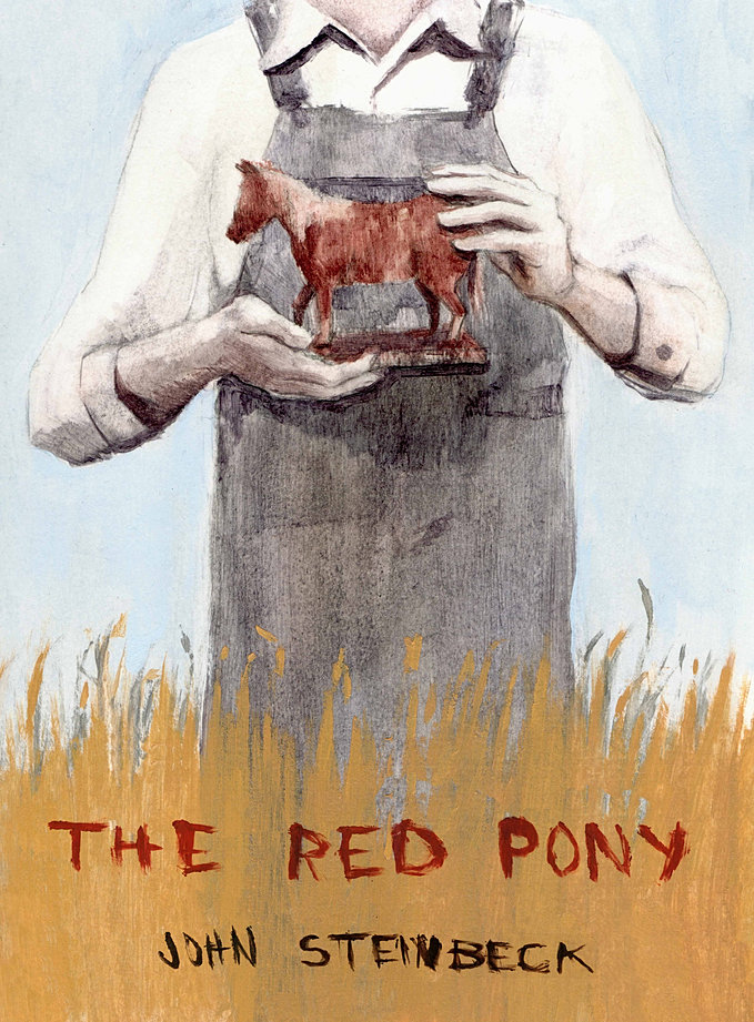 Wednesday Book Review   The Red Pony    HORSE NATION