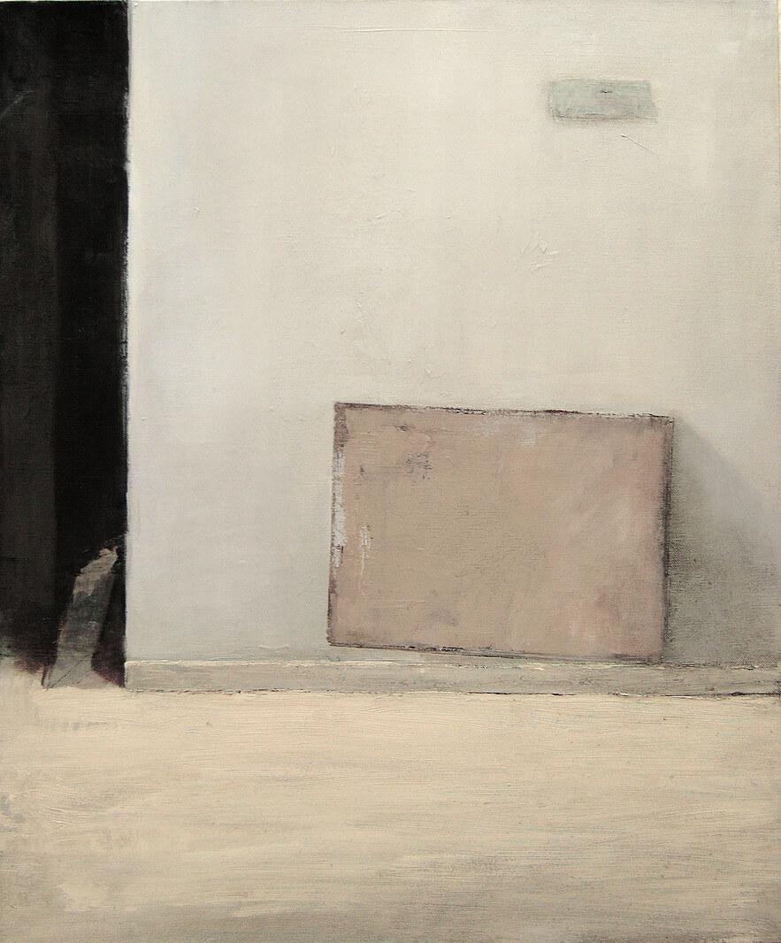 """The studio"" oil on canvas"