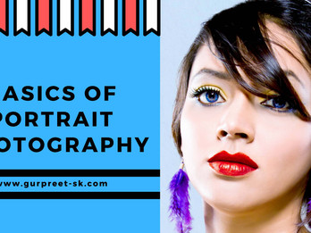 Basics of Portrait Photography