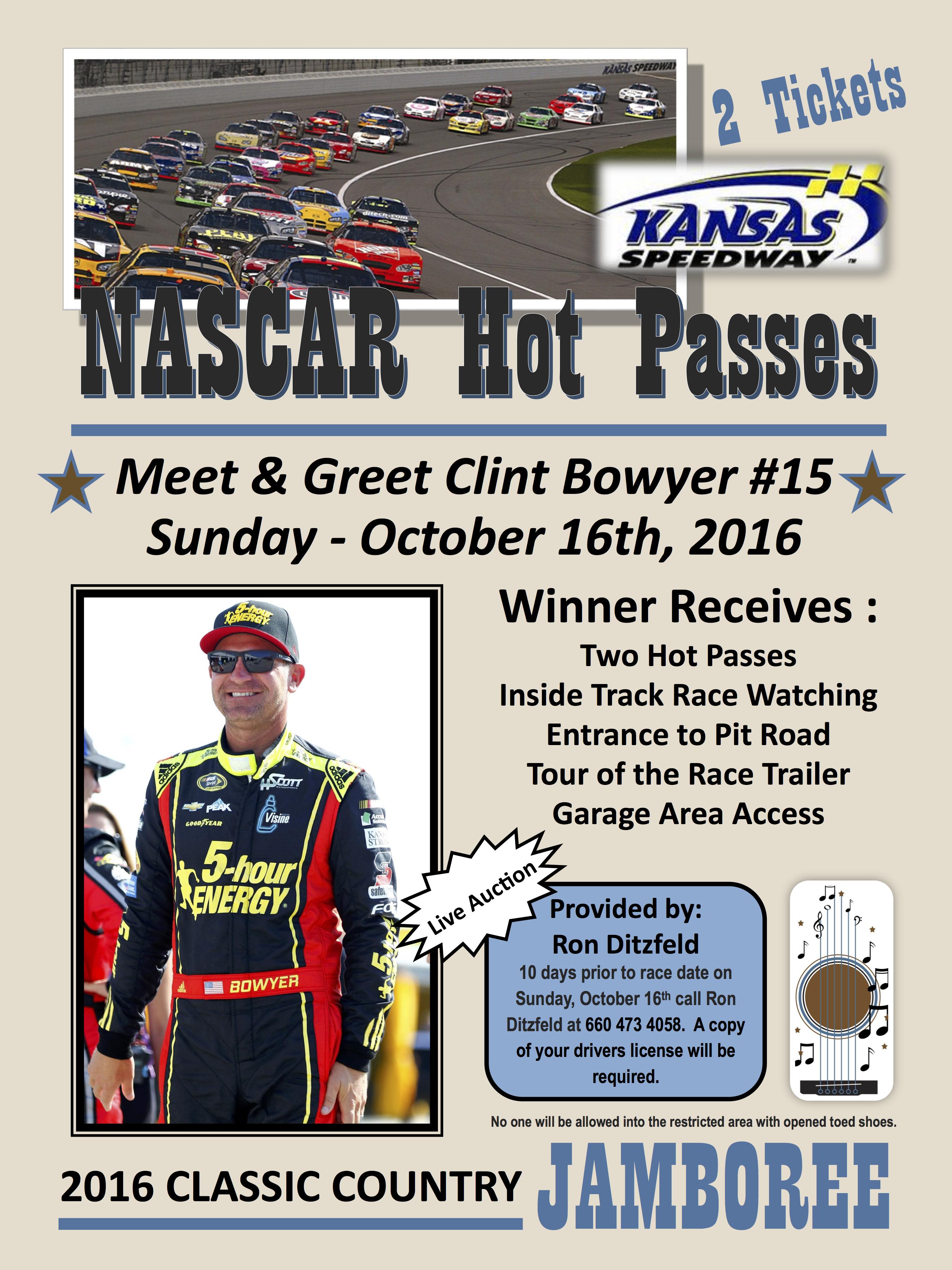 NASCAR Hot Pass Jamboree 2016