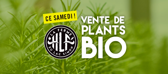 VENTE DE PLANTS BIO 2019