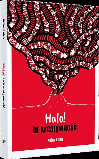 """""""Halo! tu kreatywność"""" - okładka książki"""