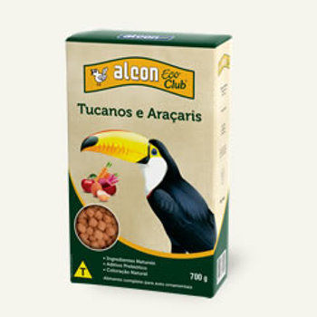 Alcon eco club tucanos e araçaris