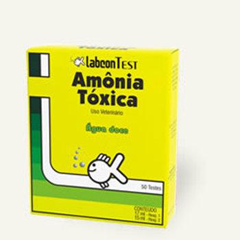 Labcon test amônia tóxica Água doce