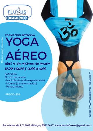 Curso de Yoga Aéreo