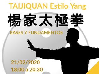 PROGRAMA INTEGRAL DE FORMACIÓN EN TAIJIQUAN ESTILO YANG