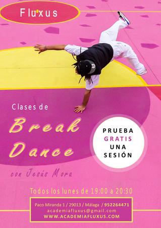 NUEVAS CLASES DE BREAK DANCE