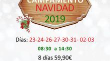 CAMPAMENTO INFANTIL DE NAVIDAD 2019