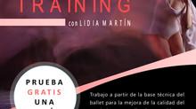 Nueva actividad para mantenerse en forma. Ballet Training
