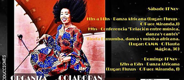 DANZA AFRICANA EN FLUXUS