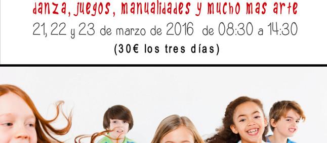 Campus infantil de Semana Santa 2016