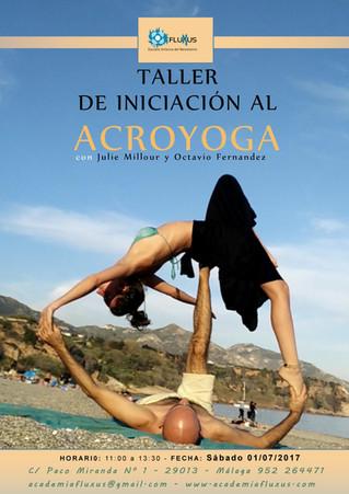 TALLER DE INICIACIÓN AL ACROYOGA