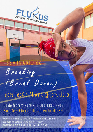 CURSO DE BREAKING (BREAK DANCE)