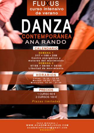 Cursos de Danza Contemporánea Ana Rando