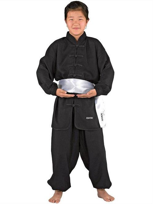 Kimono infantil de entrenamiento con fajín blanco