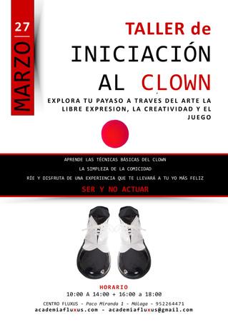 Nuevo taller de iniciación al Clown