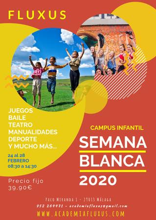 CAMPAMENTO DE SEMANA BLANCA 2020