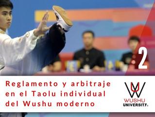 REGLAMENTO Y ARBITRAJE EN EL TAOLU MODERNO. 2