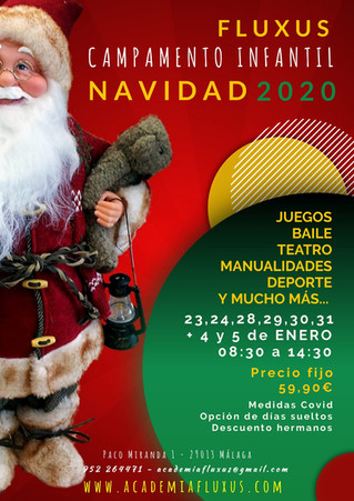 CAMPAMENTO INFANTIL DE NAVIDAD 2020