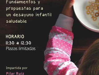 Charla nutricional con Pilar Ruíz 20/01/2018