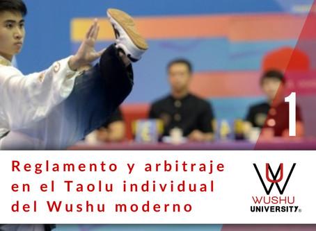 REGLAMENTO Y ARBITRAJE EN EL TAOLU MODERNO. 1