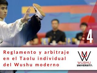 REGLAMENTO Y ARBITRAJE EN EL TAOLU MODERNO. 4