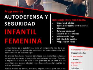 Curso de autodefensa infantil femenina 2021/2022