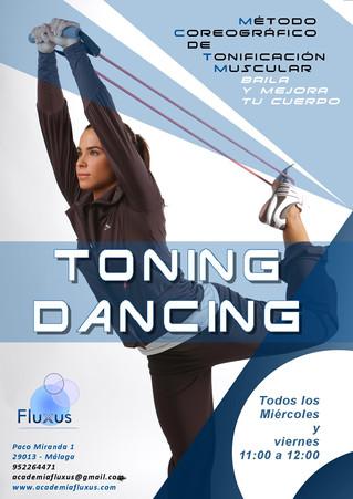Toning Dancing. Nueva modalidad para estar en forma.