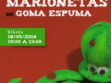 TALLER DE CONFECCIÓN DE MARIONETAS DE GOMAESPUMA