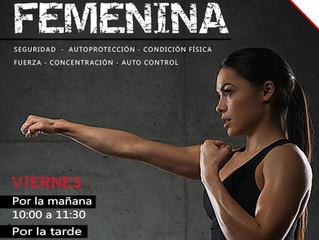 DEFENSA PERSONAL FEMENINA 2019