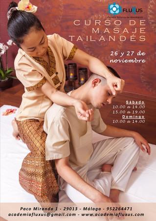 Curso de masaje tailandés