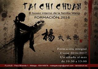 Curso de formación en Taijiquan tradicional