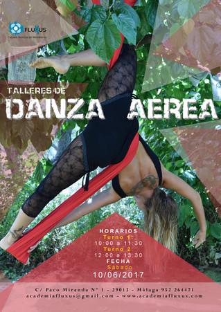 TALLER DE DANZA AÉREA