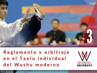 REGLAMENTO Y ARBITRAJE EN EL TAOLU MODERNO. 3