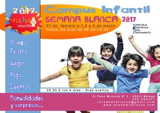 CAMPUS INFANTIL SEMANA BLANCA 2017