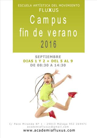 Campus fin de verano 2016