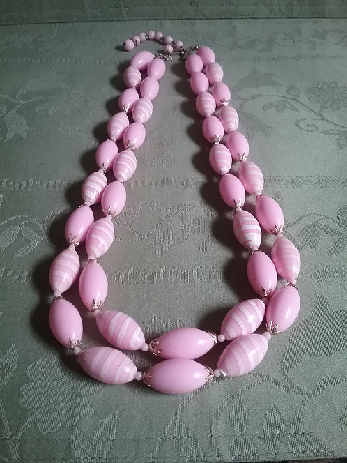 Pink Necklace from Hong Kong