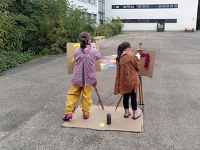 """🙌🏽 MMM - MESCHENICH MACHT'S MÖGLICH: VF Projekt """"Streetart"""""""