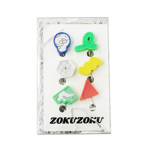 《ZOKUZOKU》リトルシェイプスイヤリング福袋no.4※総額¥7920相当
